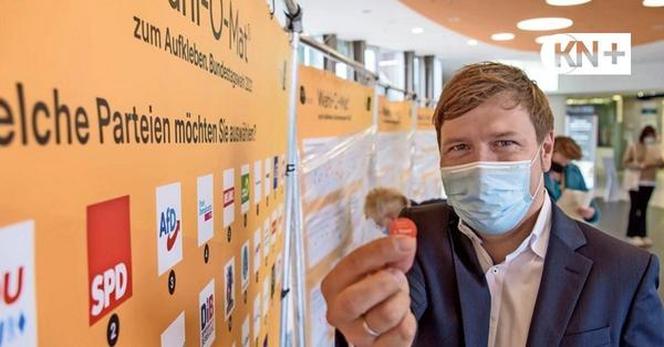 Wahl-O-Mat unterwegs in Kiel: Schwierige Annäherung an die Politik