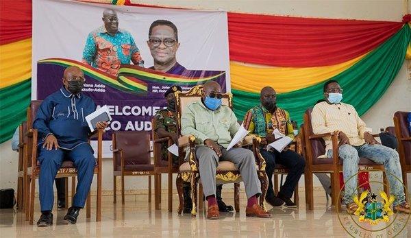 Dynamic Peter Amewu's victory is NPP's breakthrough, important bridgehead into Volta – Akufo-Addo