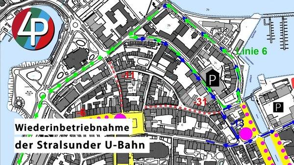 Wiederinbetriebnahme Stralsunder U-Bahn -