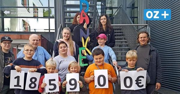 Handballer spenden fast 2000 Euro für soziales Projekt in Stralsund