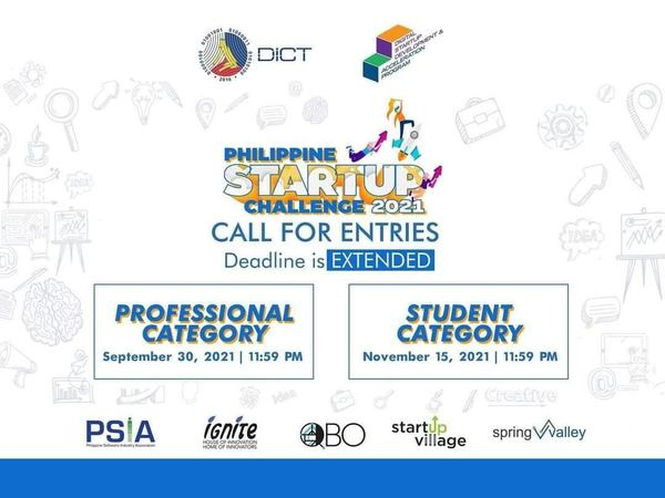 Philippine Startup Challenge: Call for Entries