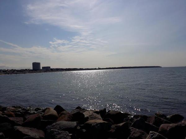 Ein herrlicher Tag am Meer (Foto: Christine Blatt)