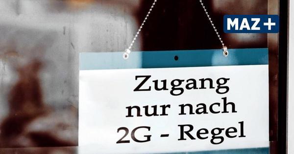Brandenburg führt 2G-Options-Regel für Gastronomie, Clubs und Veranstaltungen ein