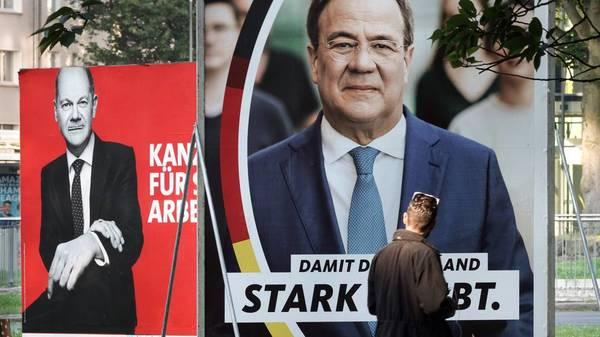 Aktuelle Umfrage zur Bundestagswahl: Union mit leichtem Aufwind, SPD unverändert