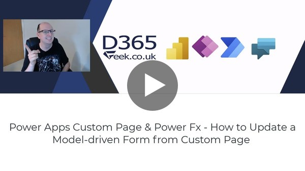 Power Apps Custom Pages & Power Fx