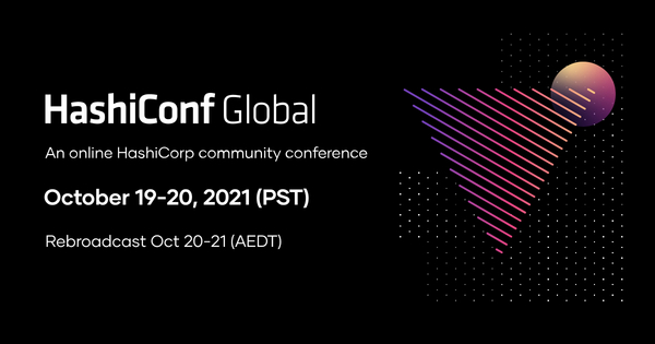 HashiConf Global 2021 - October 19-20