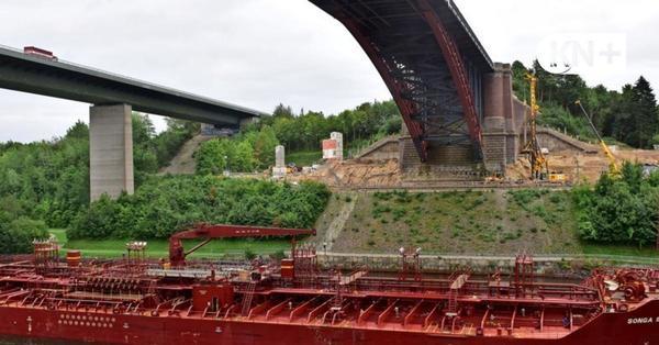 Levensauer Hochbrücke wird um 165 Millionen Euro teurer als geplant
