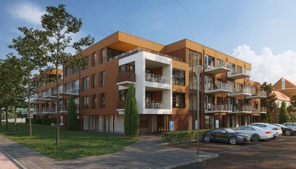 Zo komt Eerste Kwartier eruit te zien. © BBHD architecten