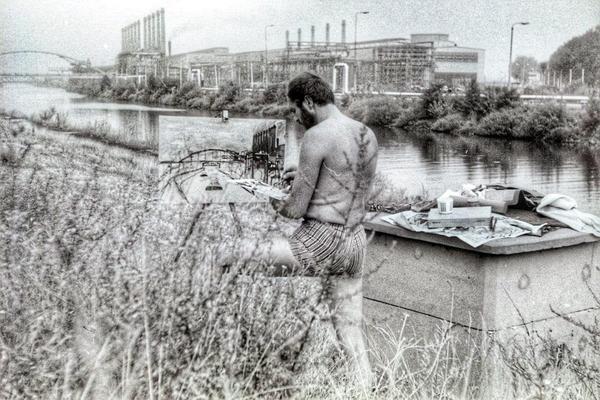 Dieses Foto von 1971 steckte voller Rätsel. (Foto: Helmut Mende)
