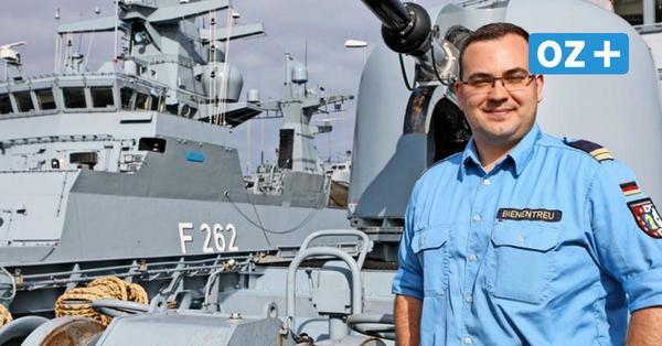 Marine-Offizier aus Rostock erzählt: So ist das Leben an Bord einer Korvette wirklich