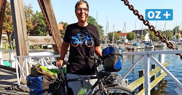 Greifswalderin legt 1340 Kilometer mit 35 Jahre alten Fahrrad zurück