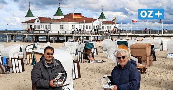 Kurzfilm aus MV: Auch an der Ahlbecker Seebrücke auf Usedom wurde gefilmt