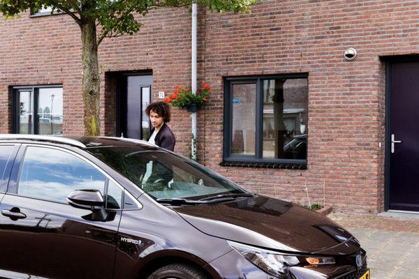Een anyways-abonnement op een hybride familiewagen (t.w.v. 545 euro)