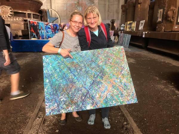 Marion Manteufel (l.) und Britta Kornmesser (Foto: Hesse)