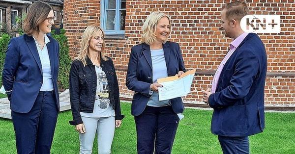 Vier Sterne vom Bürgermeister: Bad Segeberg klassifiziert Ferienwohnungen am Wasserturm