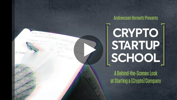 """Crypto Startup School"" Documentary"