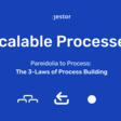 Pareidolia to Process: The 3-Laws of Process Building   Jestor