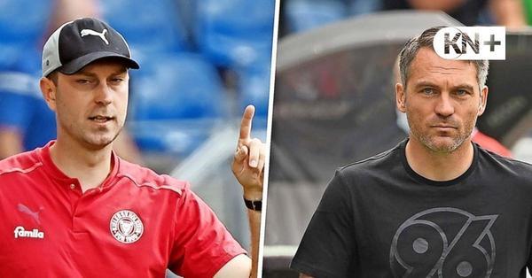 Holstein Kiel gegen 96: Pikantes Duell der Trainerfreunde