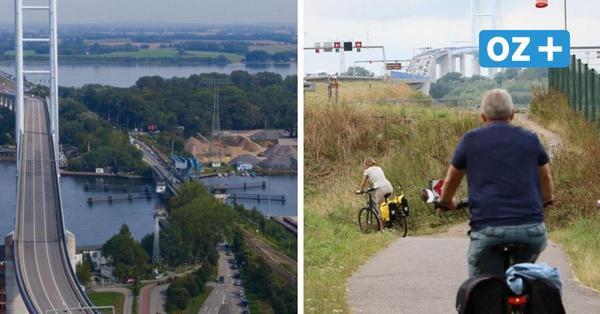 Vor der großen Sperrung im Herbst sind die Radler dran: Radweg am Rügendamm wird saniert
