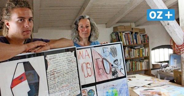Mit Kreativität gegen Gewalt: Verein auf Rügen schickt Postkarten nach Mexiko