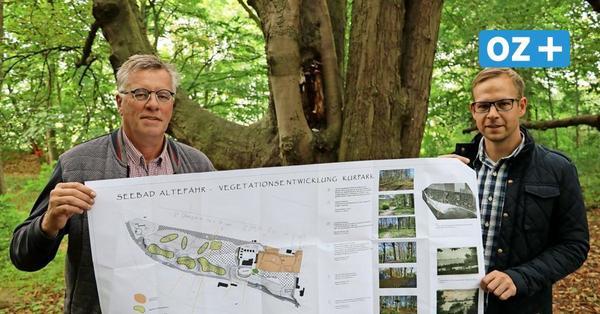 Freie Sicht von Rügen nach Stralsund: Altefähr bekommt alten Kurpark zurück
