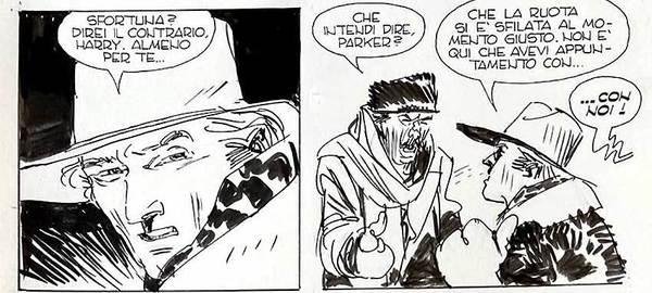 Ivo Milazzo - Ken Parker Original Comic Art