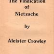 The Vindication of Nietzsche