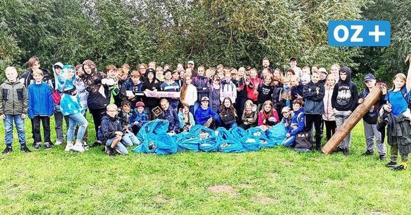 Cleanup Day: Das haben Schüler aus Bad Doberan an Müll gefunden