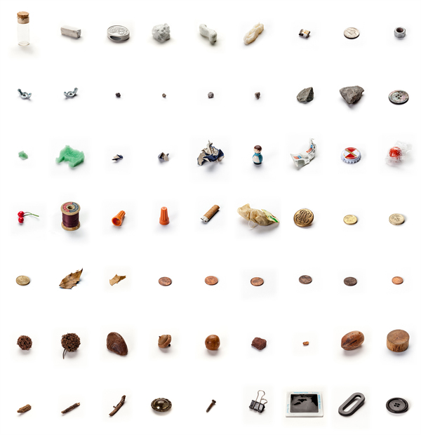 '63 Objects Taken from my Son's Mouth' by Lenka Clayton