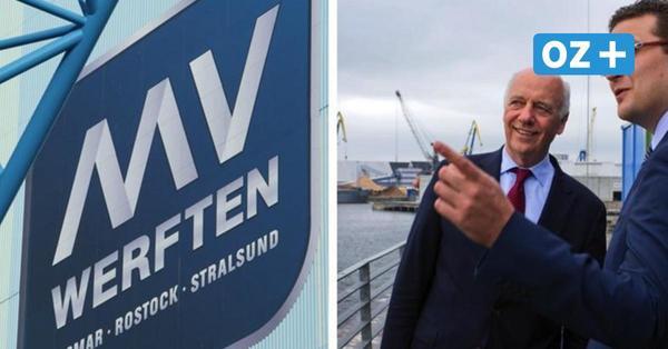 Volkswerft Stralsund: Ist der alte Eigentümer Jussufow bald wieder an Bord?