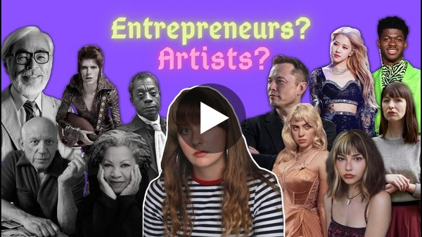 Alice Capelle about having artists become an entrepreneur and building their own network.