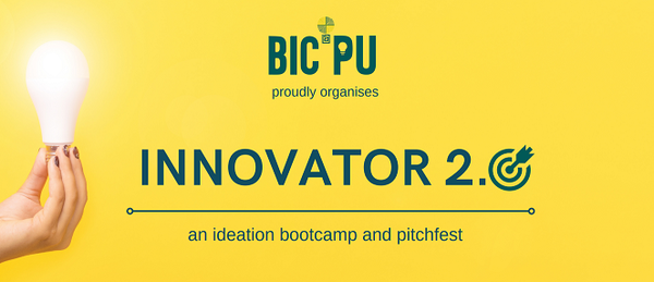 INNOVATOR 2.0 - An ideation bootcamp and pitchfest