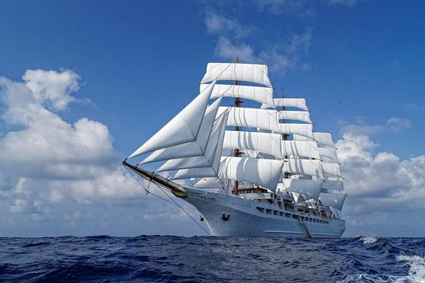 Sea Cloud Spirit: luxuriöses Segelschiff mit Kreuzfahrt-Qualitäten