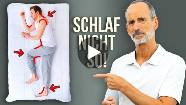 Gesunder Schlaf: Der größte Irrtum aller Zeiten