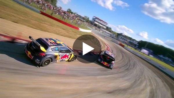 FPV Drone Vs Rallycross Racing