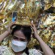 K-pop sensation Lisa thrills Thai fans with traditional headgear   Reuters