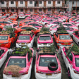 Taxi cab gardens emerge in Bangkok as drivers quit and debts grow - CNA