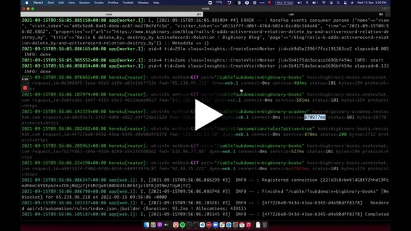 📺  Reducing Memory Bloat of a Ruby on Rails application