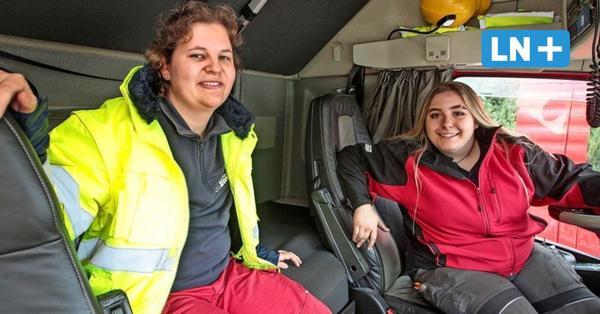 Spedition Bode in Reinfeld: Zwei junge Frauen machen Ausbildung zur Berufskraftfahrerin