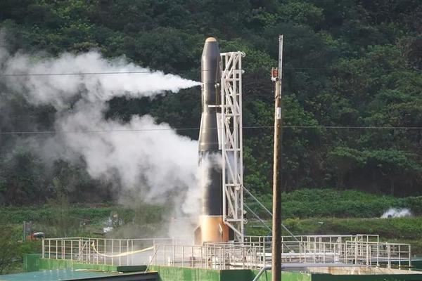 Failed ignition of TiSpace's Hapith I rocket