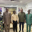 John Mahama, NDC executives visit 'Prophet 1'