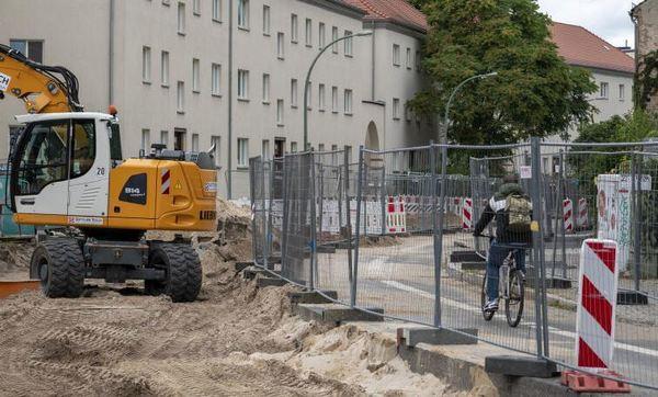 Die Behlertstraße wird saniert. Foto: Varvara Smirnova