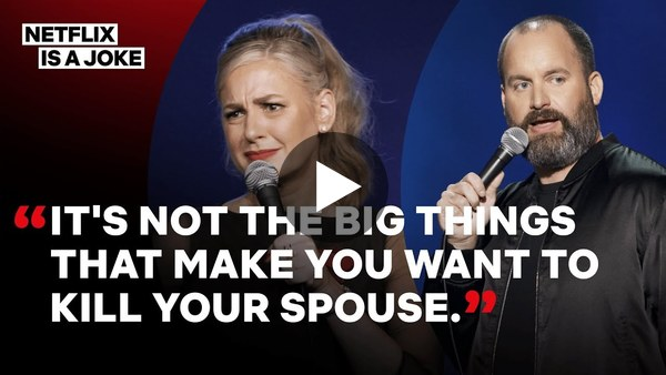 Hot Takes: Comedy Couple Christina P & Tom Segura On Being Parents