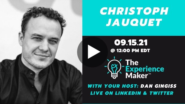 The Future of Health and Customer Experience with Christophe Jauquet