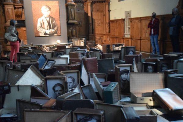Nouvelle installation artistique sur l'Holocauste - Nieuwe kunstinstallatie over Holocaust