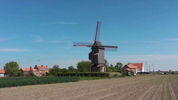 Le moulin, l'emblème de la Flandre française - Molen staat symbool voor Frans-Vlaanderen