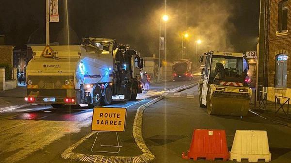 Plusieurs chantiers de rénovation sur les routes de Flandre et du Dunkerquois - Verschillende renovatieprojecten op de wegen van Frans-Vlaanderen en Duinkerke