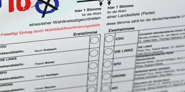 U18-Wahl in Sachsen: AfD holt die meisten Stimmen