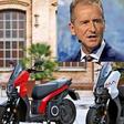 Rasantes Video: Darum findet VW-Chef Herbert Diess den Seat-E-Roller cool