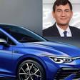 VW-Personalvorstand Kilian fährt Golf R und lobt die VW-Beschäftigten